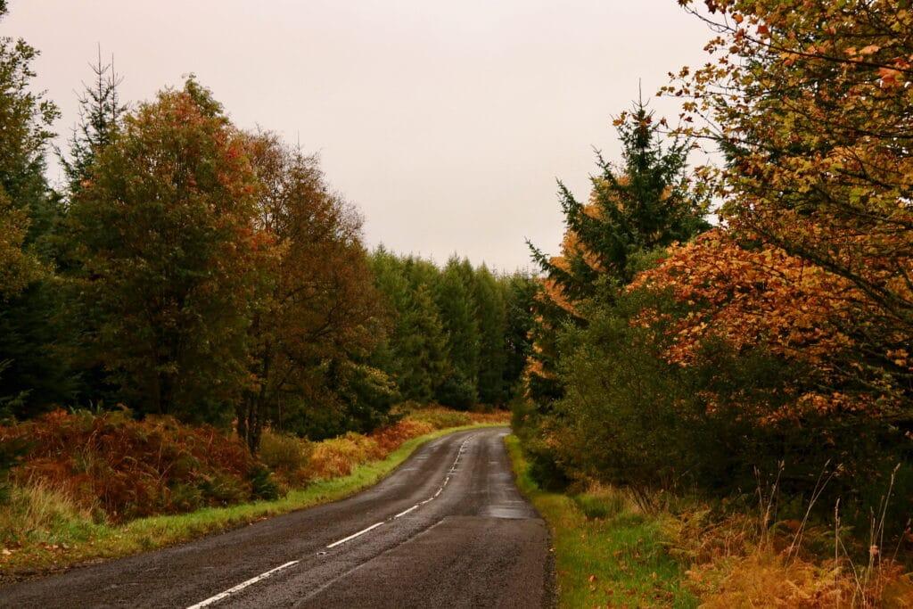 Autumn Scottish scenery